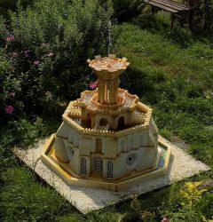 Za darmo - nowa technika budowy form 3d - fontanny ze świecami - mała architektura ogrodowa.