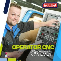Operator CNC - Niemcy