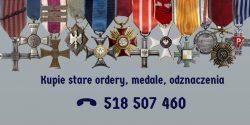 Kupie stare odznaczenia, medale, kolekcje
