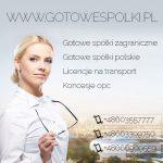 GOTOWA SPÓŁKA W NIEMCZECH, ANGLII, SPÓŁKI SŁOWACKIE  /  Gotowe Fundacje CZESKIE, ŁOTEWSKIE, BUŁGARSK
